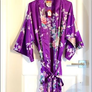 Soft silky kimono in my favorite color